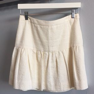 J Crew fit and flare skirt